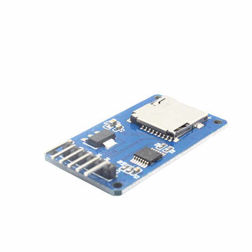 1pcs Micro sd-kaart mini TF kaartlezer module SPI interfaces met level converter chip voor arduino