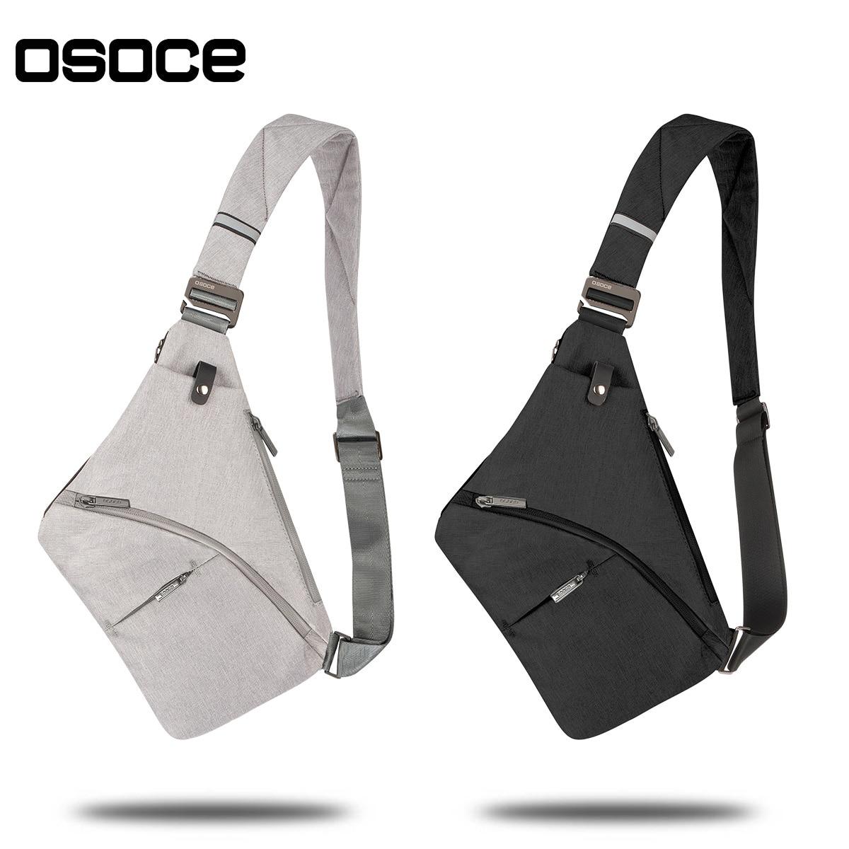 Anti-Theft Crossbody Bag Shoulder Bag Sling Chest bag Waterproof Cover Pack Rucksack Bicycle Sport 1