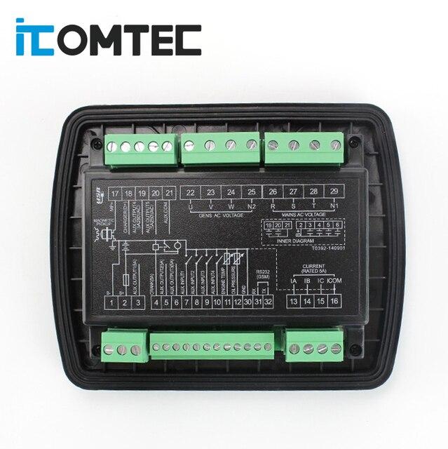 LXC3120 LIXiSE diesel generator ats controller module oringal high quality 2