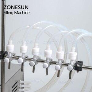 Image 3 - ZONESUN Electric Digital Liquid Filling Machine Ejuice Eliquid Bottle Perfume Filler Water Juice Essencil Oil Packing Machine