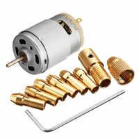 1 pieza de nuevo Motor micro de 12V CC 500mA con juego de herramientas PCB eléctrico de 5 uds 0,5-3,0mm