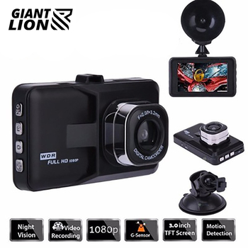 3 Inch Smart Car DVR Camera 1080P HD Night Vision Dash Cam Voice Control Driving Video Recorder 140 Degree Wide Angle