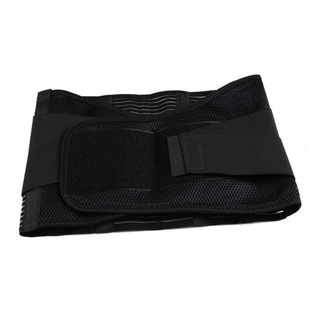 Orthopedic Posture Corrector Brace New Elastic Adjustable Lower Back Waist Trimmer Belt Lumbar Support Belt Corset Men Women 4