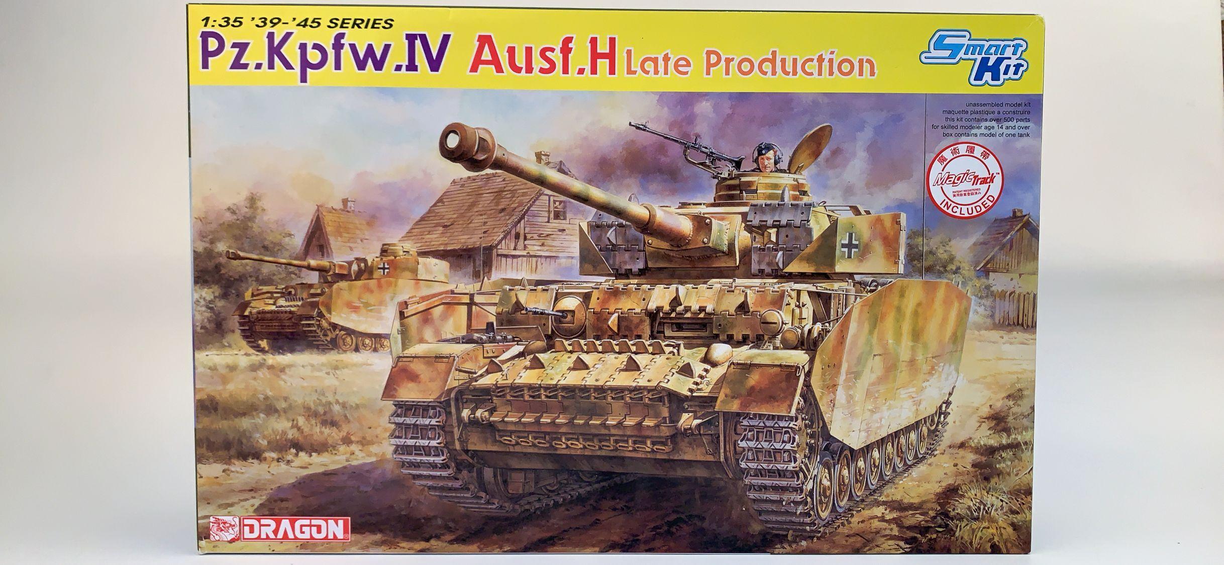 DRAGON 6300 1/35 Pz.Kpfw.IV Ausf.H Late Smart Kit