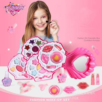Zestaw do makijażu dla dziewczynek zestaw do makijażu dla księżniczek zestaw do makijażu dla dzieci zestaw do makijażu dla dzieci zestaw do makijażu dla dzieci tanie i dobre opinie MicroPlush CN (pochodzenie) Suitable for children over three years old Girls Makeup Set 8 ~ 13 Lat 14 lat i więcej 5-7 lat