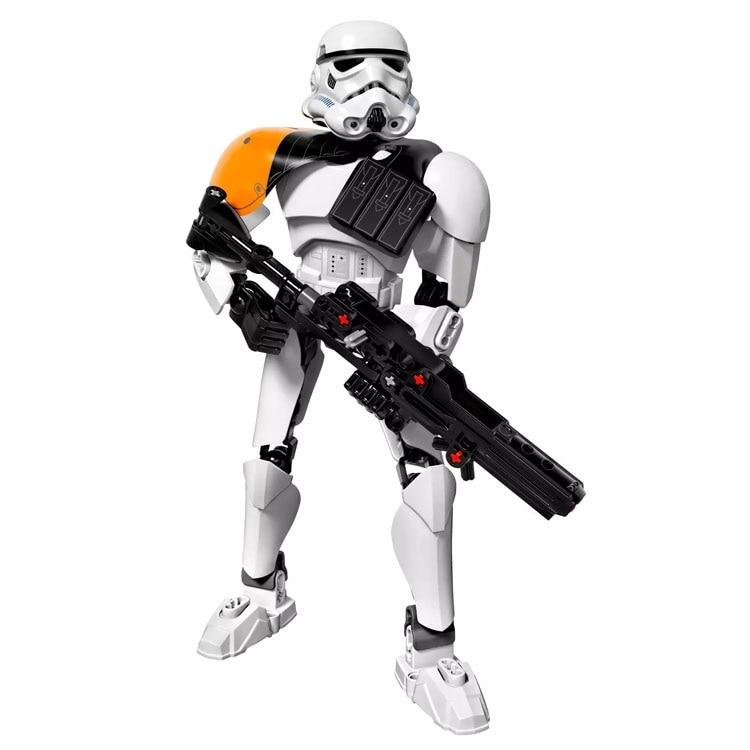 Star Wars Boba Fett Darth Maul Kylo Stormtrooper Phasma Ren Rey Vader Model Assemble Figure Construction Toys For Children 13