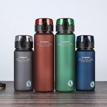 Bottiglia d'acqua sportiva a prova di perdite di marca BPA gratuita di alta qualità Escursionismo Portatile 1