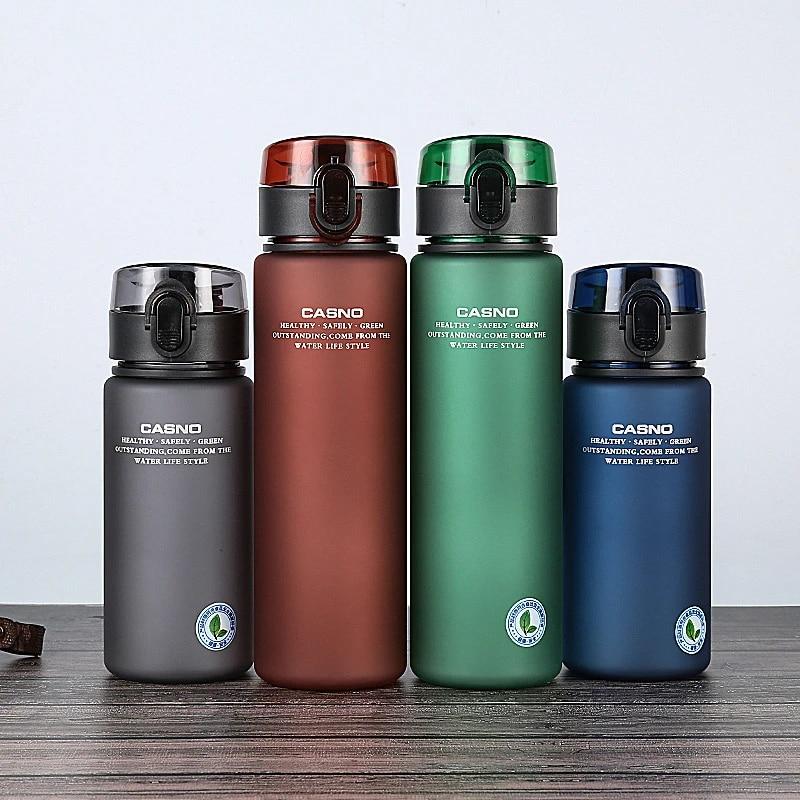 BPA Free Leak Proof Sports Water Bottle Tour Hiking Portable Bike UK Sport