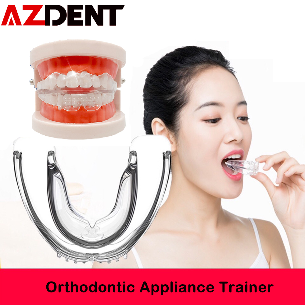 3pcs/set Azdent Dental Tooth Orthodontic Appliance Trainer For Alignment Braces Teeth Trainer For Adults  Child Children Brace