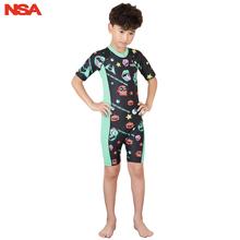 NSA chłopcy strój kąpielowy strój treningowy strój kąpielowy dla dzieci dziecko strój kąpielowy stroje kąpielowe dla chłopców kompletny strój kąpielowy dla chłopca odzież sportowa tanie tanio Poliester spandex Stretch Spandex Drukuj Jeden sztuk Pływać Pasuje mniejszy niż zwykle proszę sprawdzić ten sklep jest dobór informacji