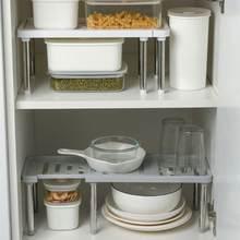 Étagère de rangement de cuisine multifonctionnelle en acier inoxydable, organisateur d'épices, étagère à chaussures, organisateur d'armoire, supports de rangement de cuisine