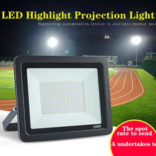 Highlight Projection Lamp LED Flood Lighting Waterproof Projection Lamp Die-cast Aluminum Projection Lamp On Construction Site