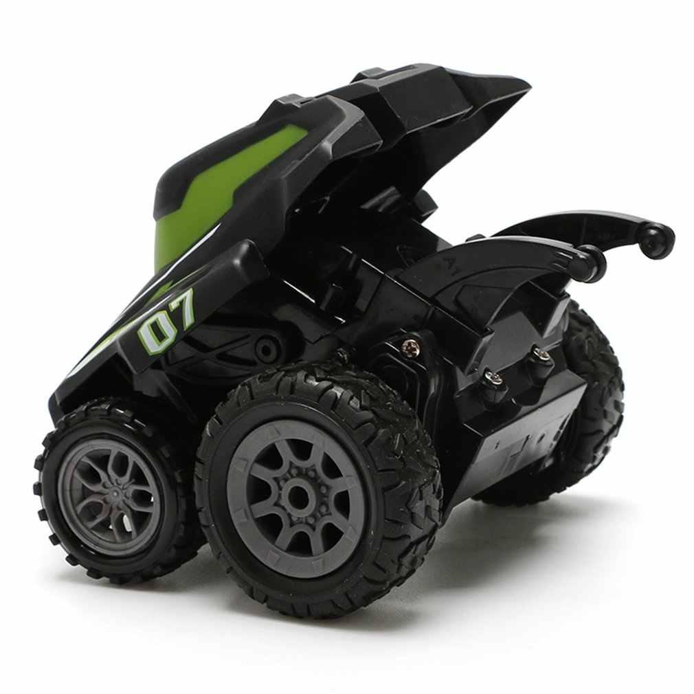 RC dublör araba 1/32 2.4G 2CH uzaktan kumanda araba izle kontrol Mini dublör araç RC Off-Road yarış araba RC oyuncak hediye çocuklar için