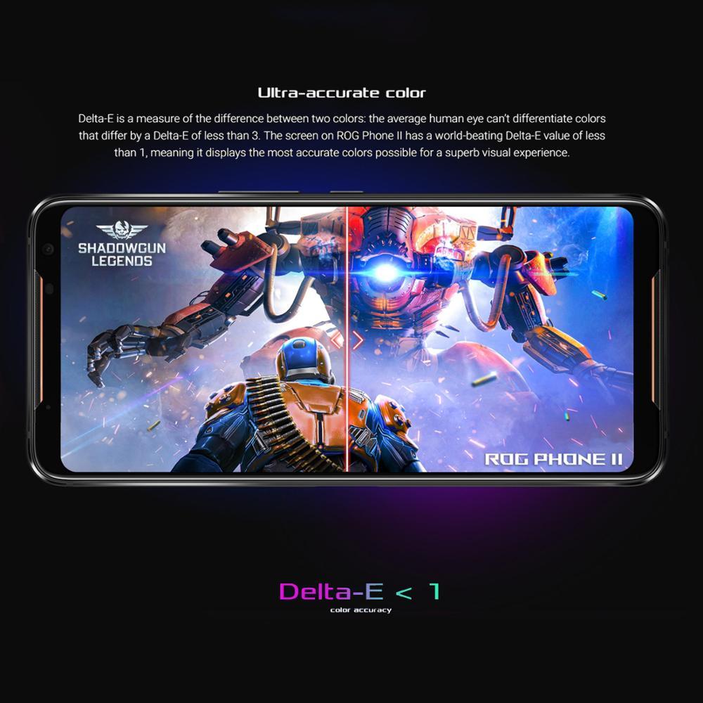 ASUS ROG Telefon 2 Smartphone 8GB RAM 128GB ROM Octa Core Snapdragon 855 Plus 6000mAh NFC Android 9,0