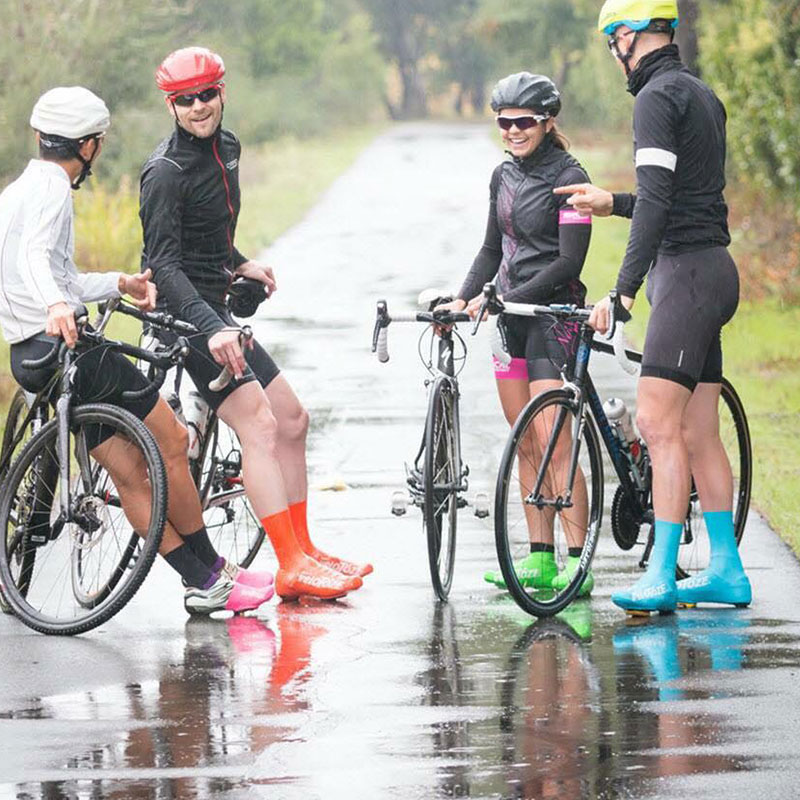 VELOTOZE Road Bike Shoe Cover Protective Cover Windproof And Waterproof Lightweight High-quality Rubber Elastic And Practical