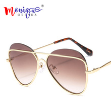 Oversized Shield Sunglasses Women Oculo Female Transparent G