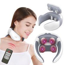 Электрический массажер для шеи инструмент облегчения боли в
