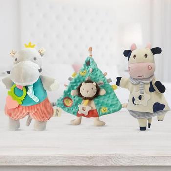 Kojący ręcznik dla niemowląt miękki łatwy w pielęgnacji kojący ręcznik dla lalek komfortowe ręczniki kojący i lalka śpiące dziecko śliniaczek dla niemowląt tanie i dobre opinie moda W wieku 0-6m 4-6y CN (pochodzenie) W stylu rysunkowym baby Unisex COTTON Burp płótna Baby Soothing Towel Baby Comforting Towel