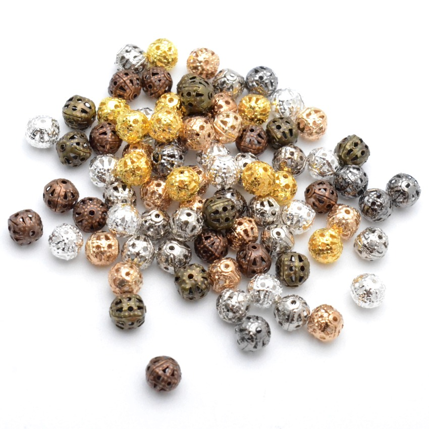 70*50*35mm Antique style bronze tone flower pattern bracelet jewelry finding 2pc