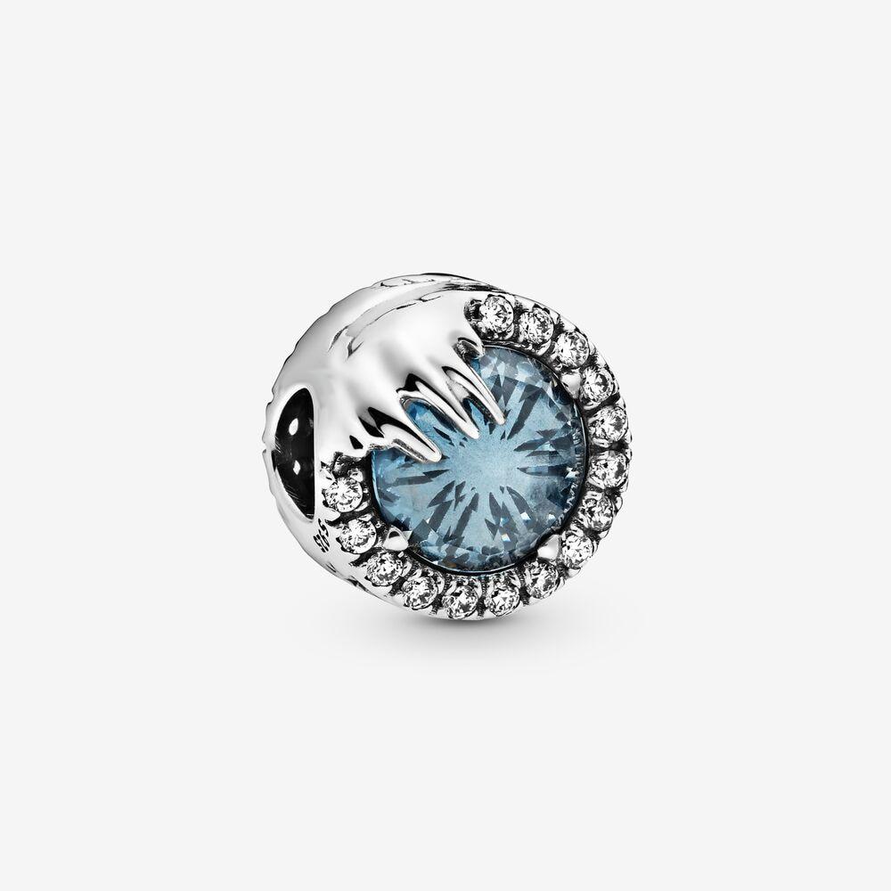 43Frozen Winter Crystal Charm