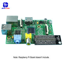diymore Raspberry Pi 2 / 3 / Model B GPIO Reference Double side Board Expansion Board(China)