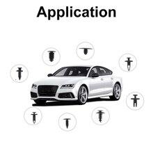 Toolbox 446Pcs Car Retainer Clips Auto Fasteners Push Trim Clips Pin Rivet Bumper Kit