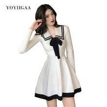 Женское трикотажное платье с длинным рукавом осенне зимнее свитер