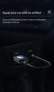 Image 5 - USB Bluetooth 5.0 Audio émetteur récepteur LCD affichage 3.5MM AUX RCA stéréo sans fil adaptateur Dongle pour PC TV voiture casque