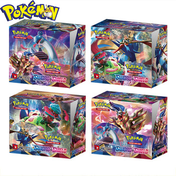 360Pcs English Pokemon card Sword Shield Englishs Cards Trade Game Battle Card Collection Model Toys Birthday Gifts Kids 1