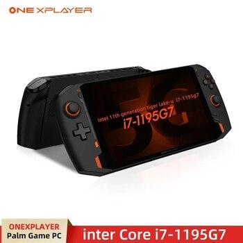 ONEXPLAYER 8.4inch Handheld Switch 2.5K Windows10 Pro intel i7 1195G7 16G/1TB Notebook Gamer Playstation Gaming Laptop Tablet 2