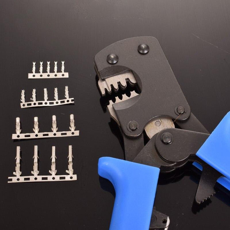 Kleine DuPont kopf Crimpen Zangen Kabel Anschluss Crimp Werkzeug rohr/isolierung terminals elektrische klemm werkzeuge auf