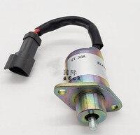 شحن مجاني وقود اغلاق الملف اللولبي ل CAT 246 انزلاقية التوجيه ل بيركنز 2848A278 وقف الملف اللولبي