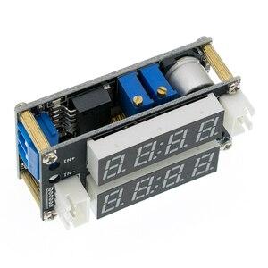 Image 5 - 2 in 1 XL4015 5A Einstellbare Power CC/CV Step down lademodul Led treiber Voltmeter Amperemeter Konstante strom konstante spannung