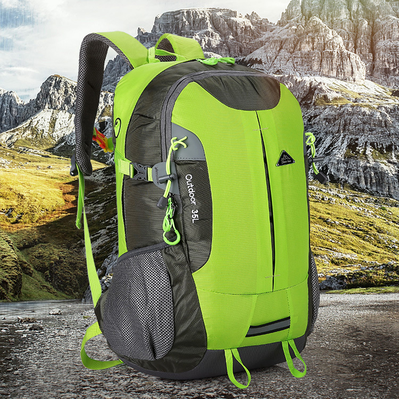 16 Colors Outdoor Sports Mountaineering Backpack 2019 Camping Hiking Trekking Travel Waterproof 35L Trekking Rucksack Backpack