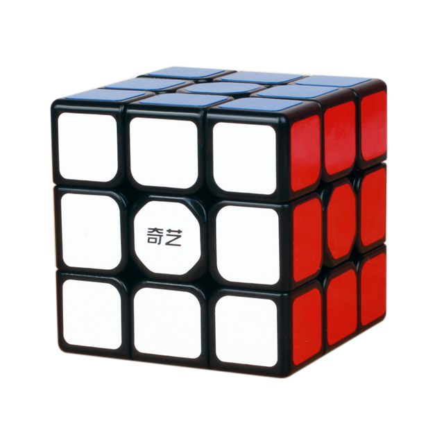 QiYi 3x3x3 Sail Magic Cube Warrior W Speed QiYi Cube stickerless Professional Puzzle Cubes Educational Toys For Children 3