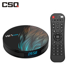 HK1 Max Smart TV Box Android 9.0, 4GB 64 GB, Rockchip RK3328 Quad-Core, 4K WiFi Netflix Google Play Store Android décodeur(China)