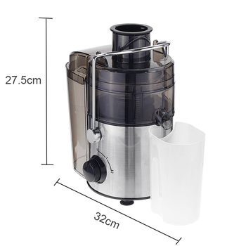 220V 1000W Stainless Steel Juicers 2 Speed Electric Juice Extractor Household Fruit Vegetables Drinking Machine for Home Kitchen 6