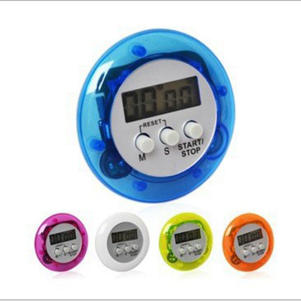 1PC Mini LCD Timer Digital Magnetic Racing Kitchen Countdown Alarm Clock Stop Watch Memory Function Timer Kitchen Tools HOT