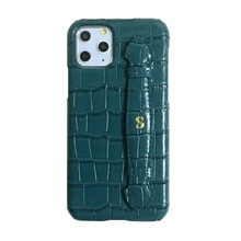 Solque جراب جلد أصلي مع حزام يد ، جراب فاخر لطيف لهاتف iPhone 11 12 Pro Max