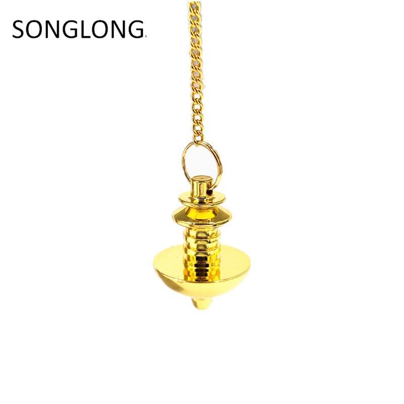 pendulum dowsing metal pendant copper pendulo radiestesia Pendulums for Dowsing Pendant Charms