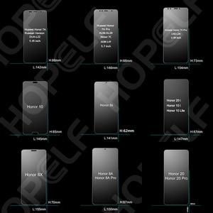 Image 2 - الزجاج المقسى لهواوي الشرف 10 9 لايت 8x 20i 10i حامي الشاشة الزجاج ل الشرف 10 20 لايت ، 8s ، 8a ، 7a ، 7c ، برو ، الزجاج