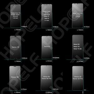 Image 2 - Gehärtetem Glas für Huawei Honor 10 9 Lite 8x 20i 10i Screen Protector Glas für Honor 10 20 lite , 8s, 8a, 7a, 7c, Pro, Glas