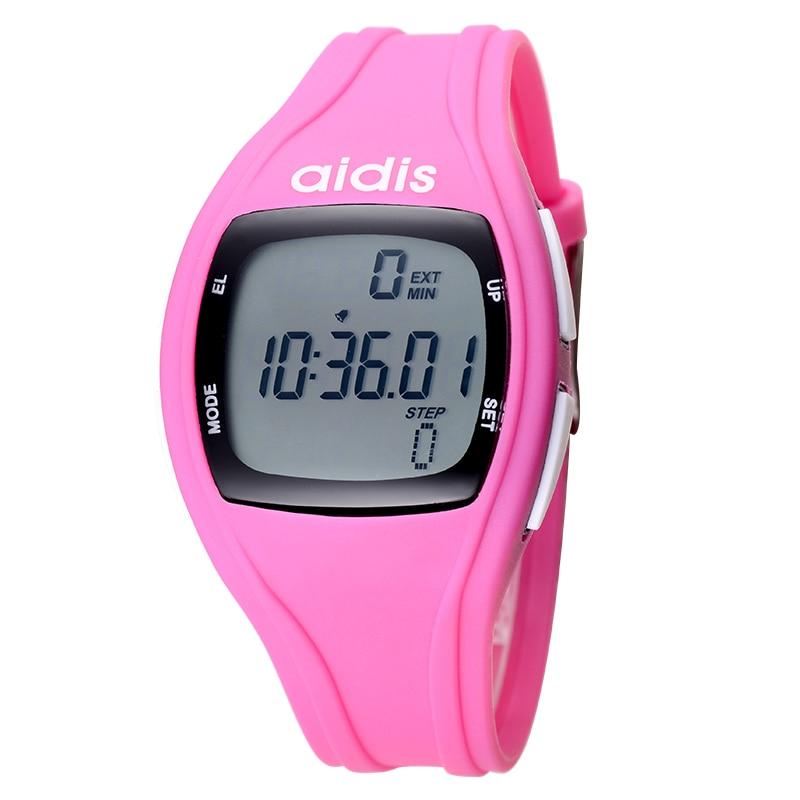 AIDIS Student Life LED Digital Sports Watches Child Alarm Date Waterproof Running Pedometer Wristwatch Reloj Hombre Reloj