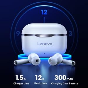 Image 3 - Lenovo LP1/LP1S/X9/X18/XT90/XT91/QT83 Wireless Headphones Bluetooth 5.0 Headset Touch Control Sport TWS Earbuds In ear Earphones