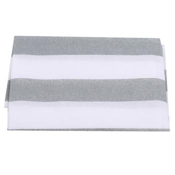 Szare paski urządzenie górna szmatka kurz zakryte przechowywanie torba pokrowiec antykurzowy na lodówkę torba do zawieszenia tanie i dobre opinie CN (pochodzenie) Mieszanie 791095 stripe Nowoczesne