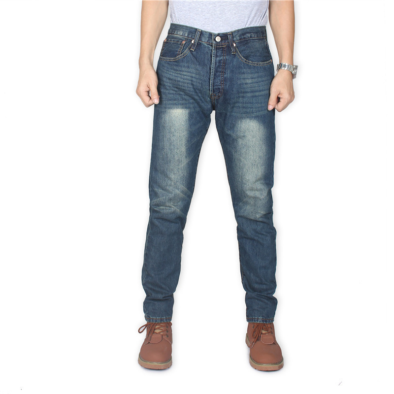 Cool Airy Wes Jeans Men's Straight-Cut 501 Autumn And Winter New Style 2019 Business Official Genuine Product