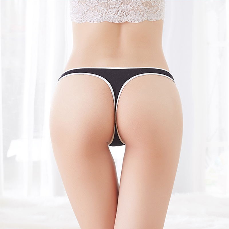 Yoga Shorts Women Seamless Cotton Underwear Sexy G String Women's Panties Intimates Briefs Thong Tangas Workout Shorts 2020