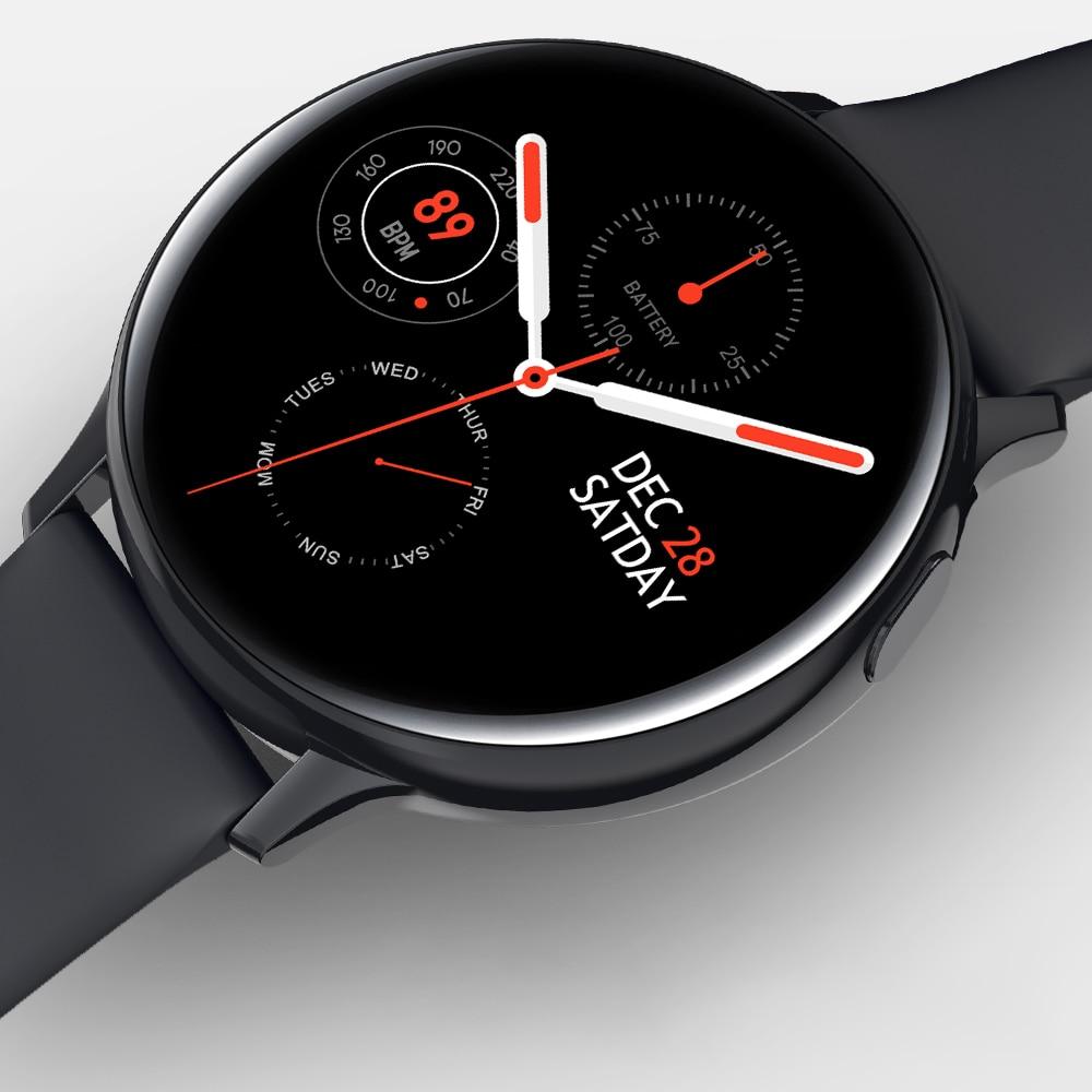 LEMFO S20 ECG Smart Watch Men Women Full Touch Screen IP68 Waterproof Heart Rate Monitor Blood Pressure Smartwatch 1