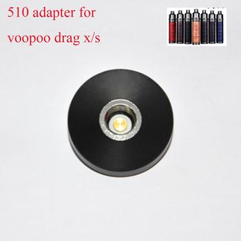510 Adapter do Voopoo VINCI VINCI X przeciągnij X przeciągnij S zestaw z modem elektroniczny papieros nici Vape akcesoria do Vinci Mod Pod zestaw tanie i dobre opinie heavengifts DIY Złącze Sprężynowy 510 Adapter for VOOPOO VINCI VINCI R VINCI X Kit VOOPOO VINCI VINCI R VINCI X kit
