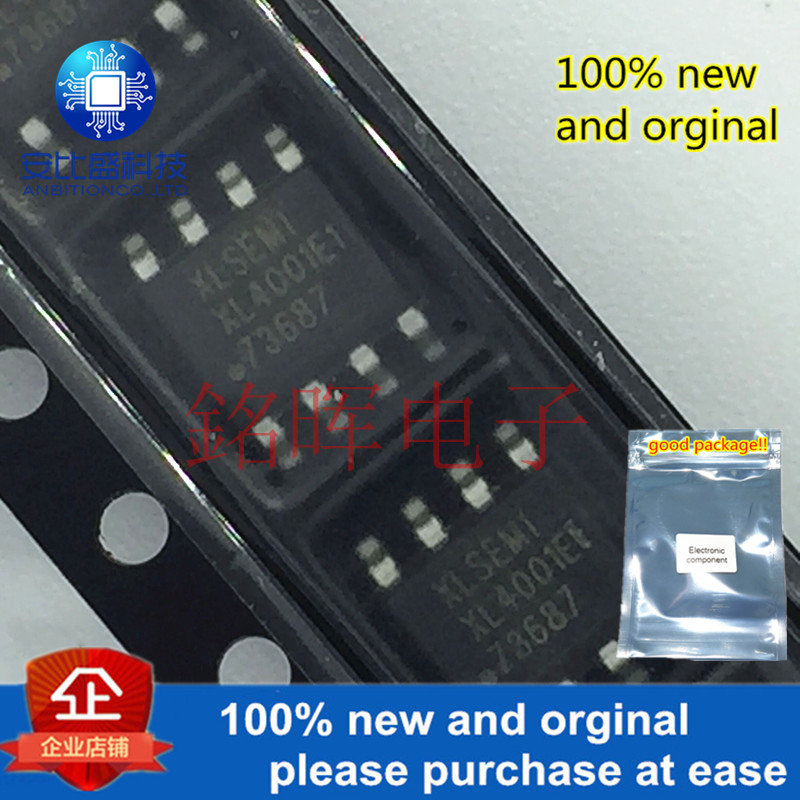 10pcs 100% New And Orginal XL4001E1 XL4001 SOP8 2A 150kHz 40V Buck DC DC Converter With Constant Current Loop DC DC In Stock